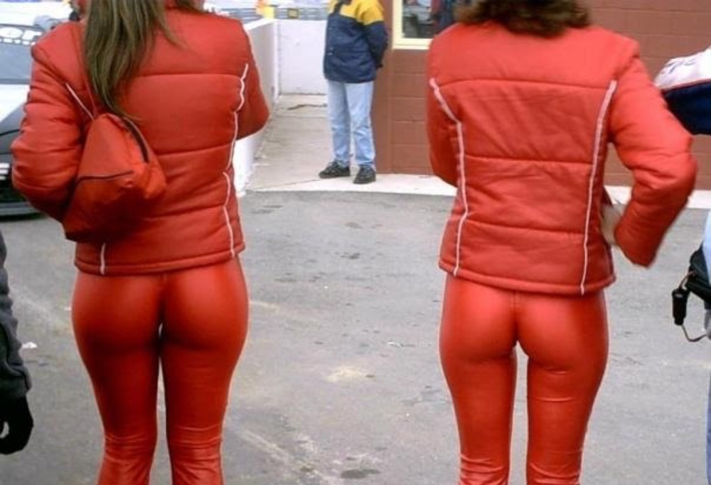 Red Leather Pants I do not  think so
